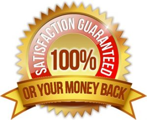 100% Satisfaction-Or-Money-Back-Guarantee